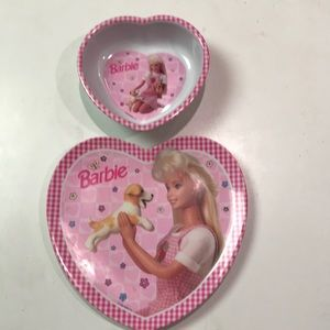 Barbie dish set